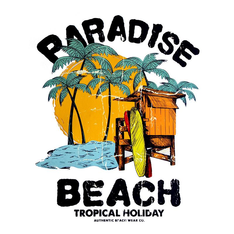 Термотрансфер PARADICE BEACH 18*22см