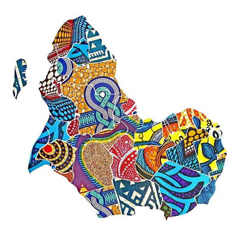 Термотрансфер AFRICA 27*20см