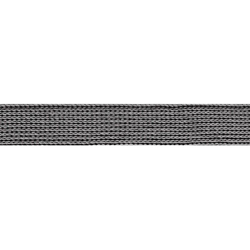 Тесьма п/э 1,2см 68-70м/рулон,цв:серый
