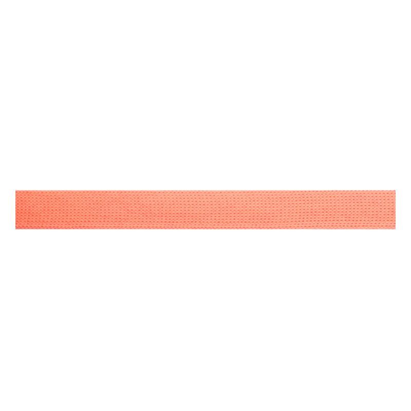 Тесьма трикотажная полиэстер 1см 88-90м/рулон, цв:персиковый