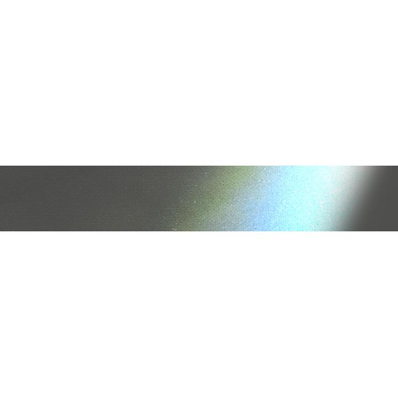 Лента светоотражающая полиэстер 1см 42-44м/рулон, цв: т.серый