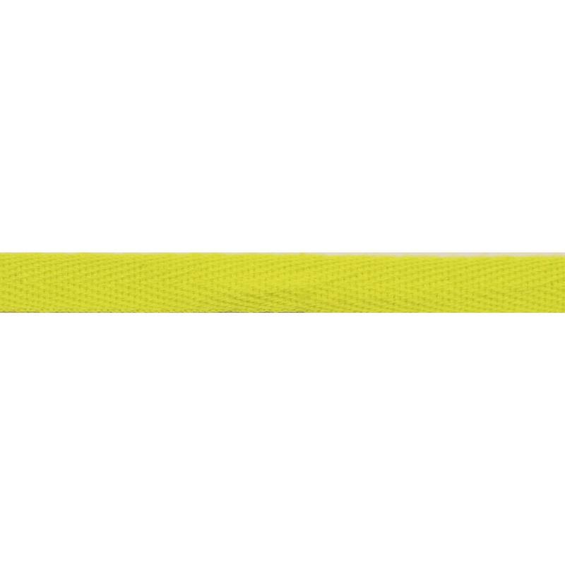Тесьма киперная хлопок 1см 68-70м/рулон,цв: зеленый