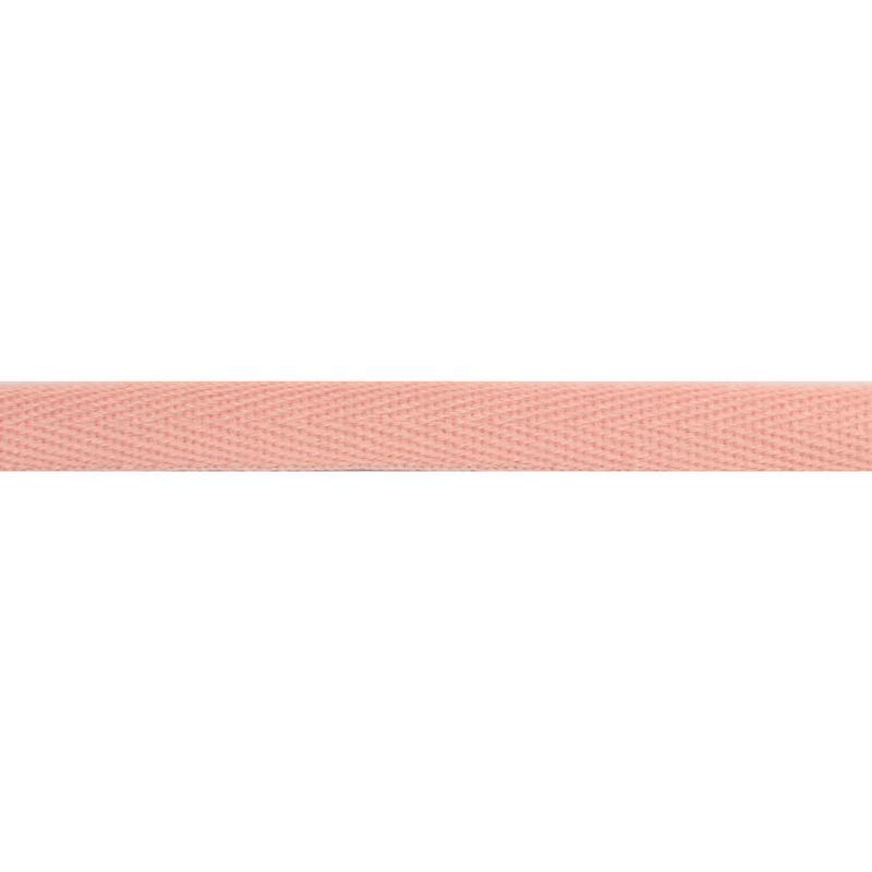 Тесьма киперная хлопок 1см 68-70м/рулон,цв:пудра
