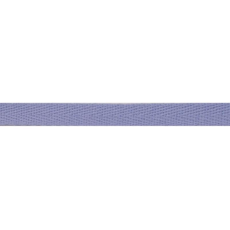 Тесьма киперная хлопок 1см 68-70м/рулон,цв:св.голубой
