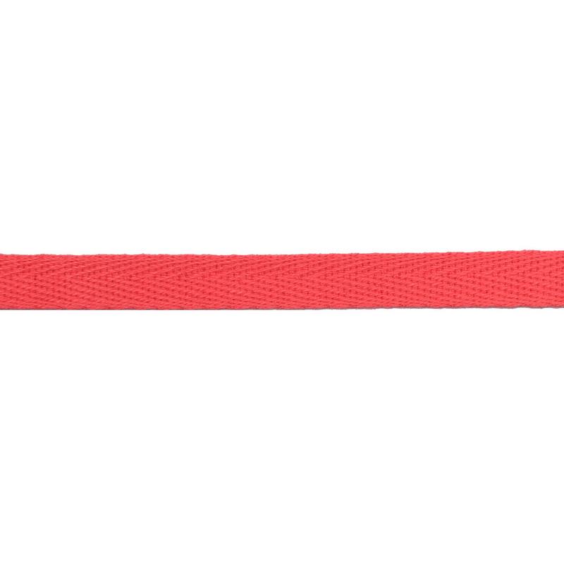 Тесьма киперная хлопок 1см 68-70м/рулон,цв:барби