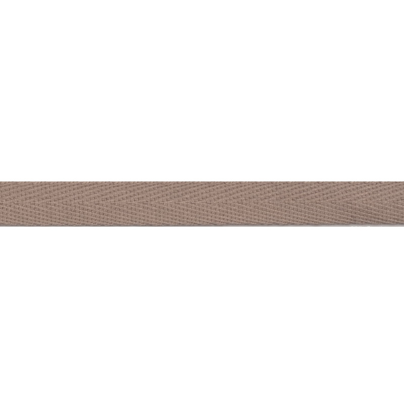 Тесьма киперная хлопок 1см 68-70м/рулон,цв:св. серо-розовый