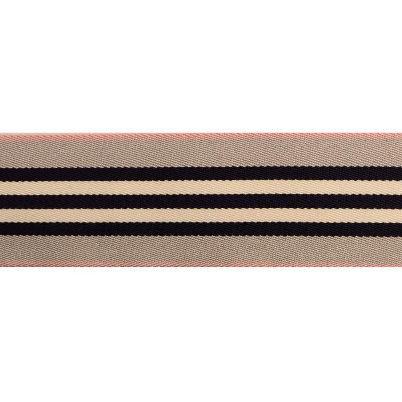Тесьма сутаж 4см, 45м/рул, цв: серый