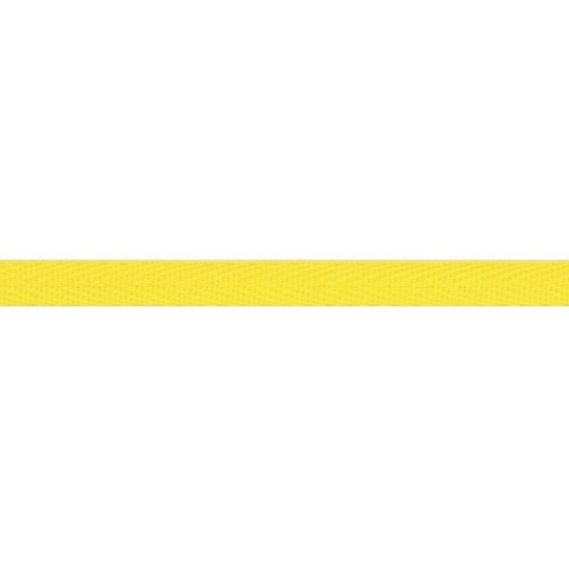 Тесьма киперная хлопок 1см 68-70м/рулон,цв:кукурузный