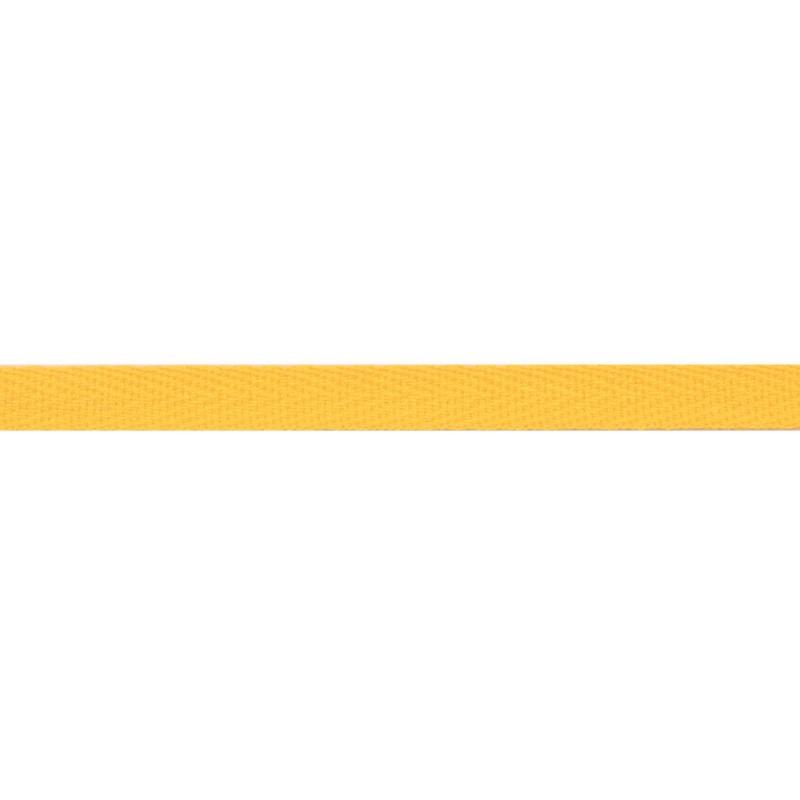 Тесьма киперная хлопок 1см 68-70м/рулон,цв:золотой