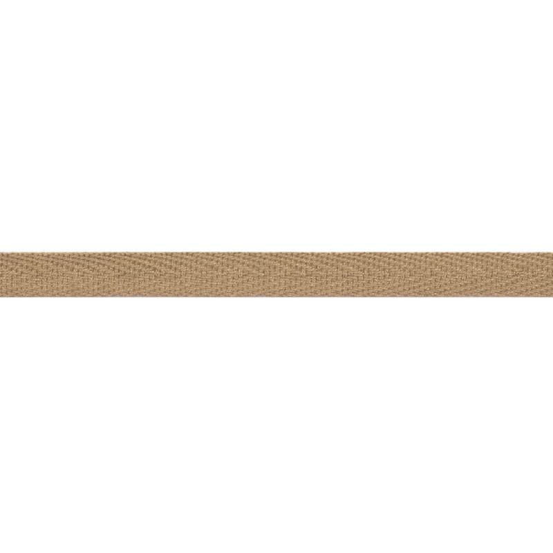 Тесьма киперная хлопок 1см 68-70м/рулон,цв:латте