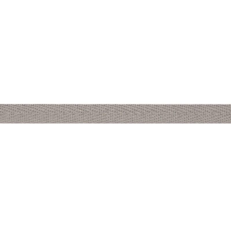 Тесьма киперная хлопок 1см 68-70м/рулон,цв:гейнсборо
