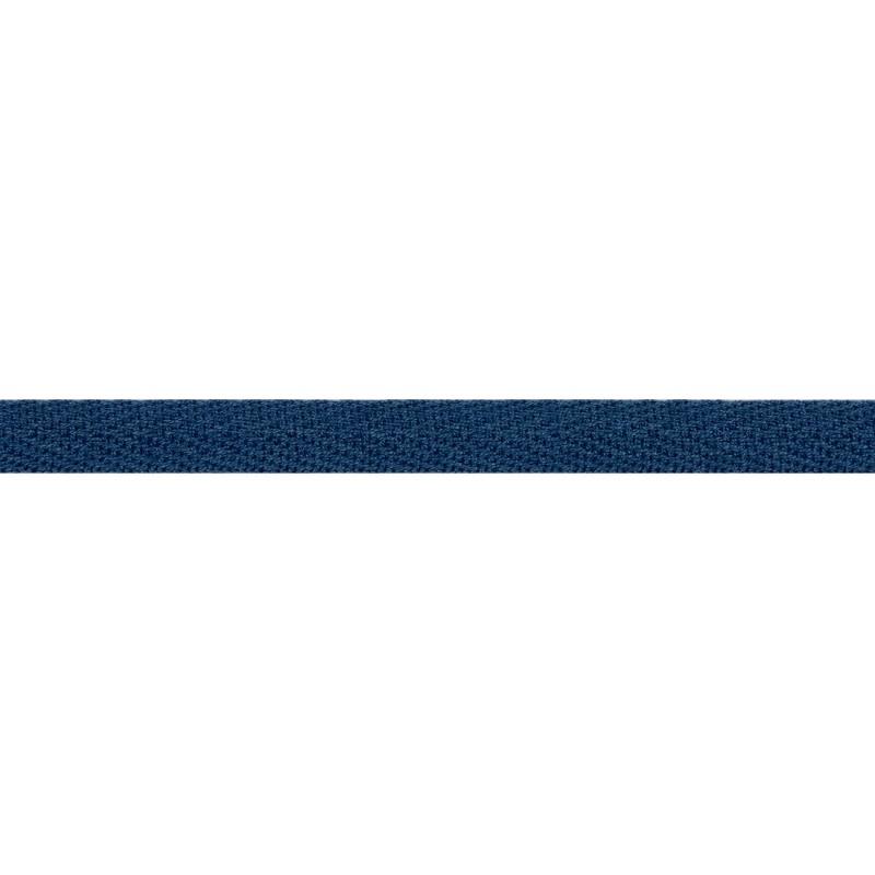 Тесьма киперная хлопок 1см 68-70м/рулон,цв:сине-зеленый