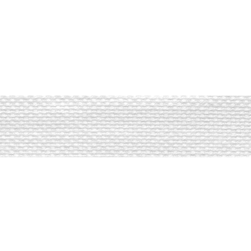 Тесьма стропа поликоттон/сутаж 1,5см 42-45м/рулон,цв:белый