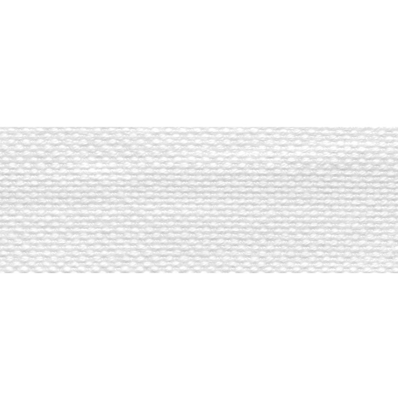 Тесьма стропа поликоттон/сутаж 2,5см 42-45м/рулон,цв:белый