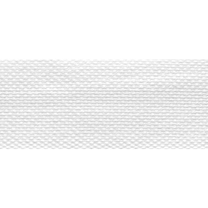 Тесьма стропа поликоттон/сутаж 3см 42-45м/рулон,цв:белый