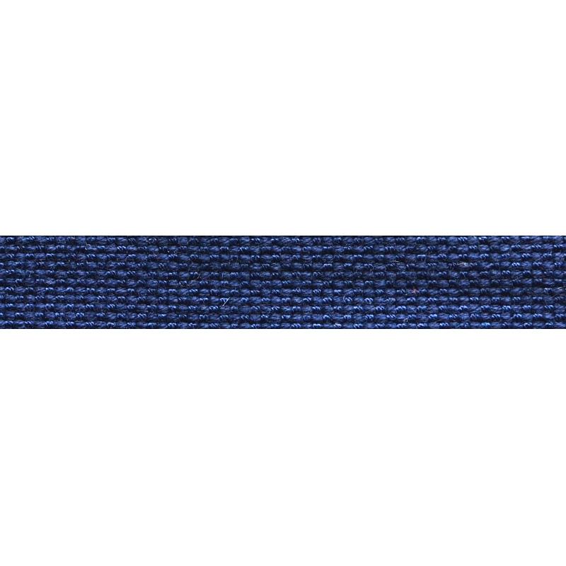 Тесьма стропа поликоттон/сутаж 1см 42-45м/рулон,цв:т.синий