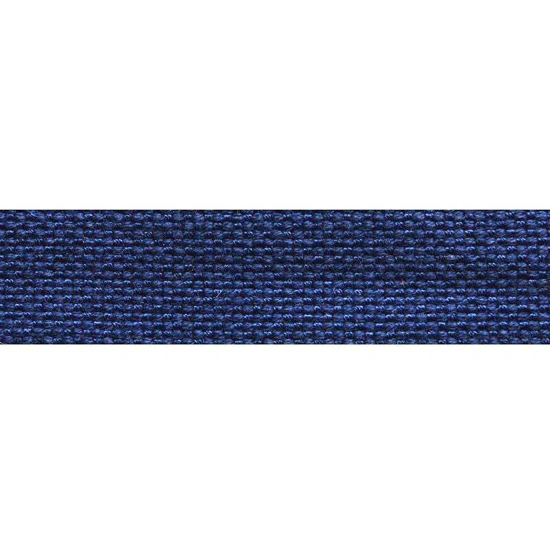 Тесьма стропа поликоттон/сутаж 1,5см 42-45м/рулон,цв:т.синий