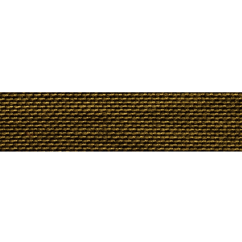 Тесьма стропа поликоттон/сутаж 1,5см 42-45м/рулон,цв:хаки