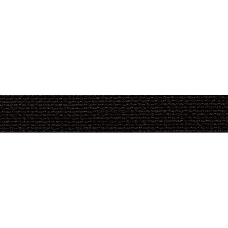 Тесьма стропа поликоттон/сутаж 1см 42-45м/рулон,цв:черный