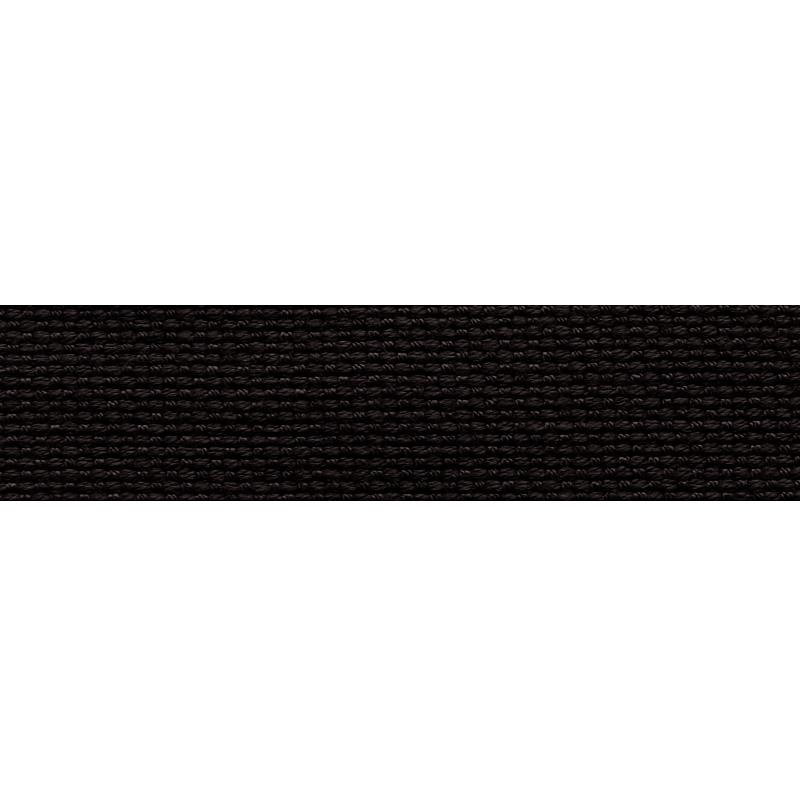 Тесьма стропа поликоттон/сутаж 1,5см 42-45м/рулон,цв:черный