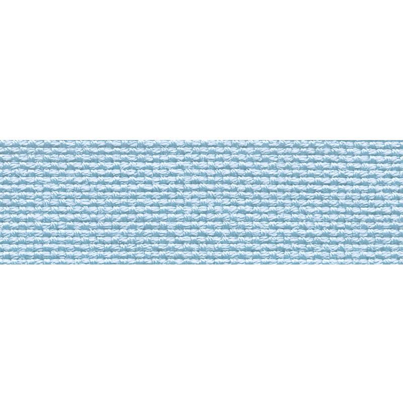 Тесьма стропа поликоттон/сутаж 2см 42-45м/рулон,цв:голубой