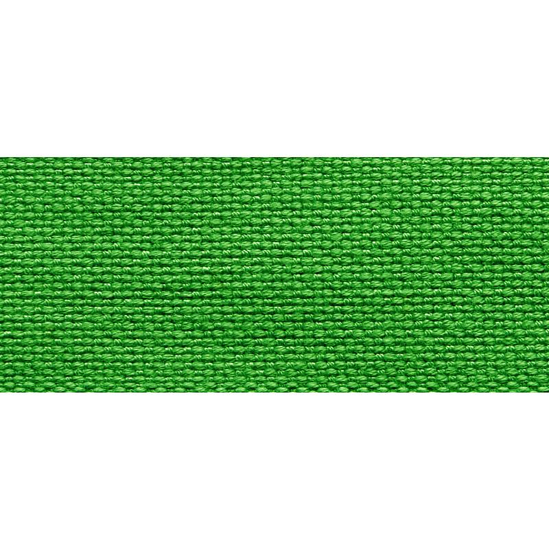 Тесьма стропа поликоттон/сутаж 3см 42-45м/рулон,цв:зеленый