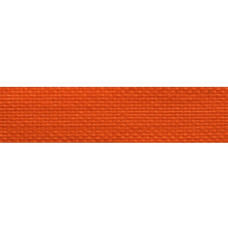 Тесьма стропа поликоттон/сутаж 1,5см 42-45м/рулон,цв:оранжевый