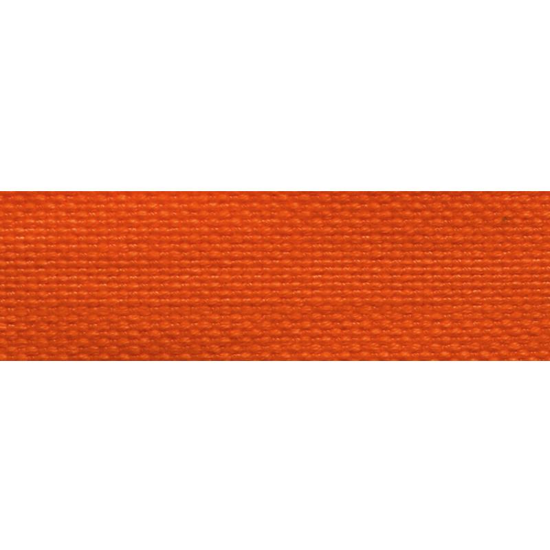 Тесьма стропа поликоттон/сутаж 2см 42-45м/рулон,цв:оранжевый