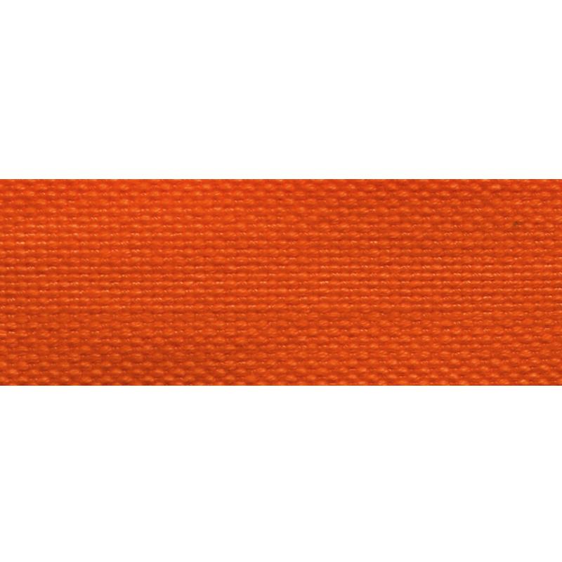 Тесьма стропа поликоттон/сутаж 2,5см 42-45м/рулон,цв:оранжевый