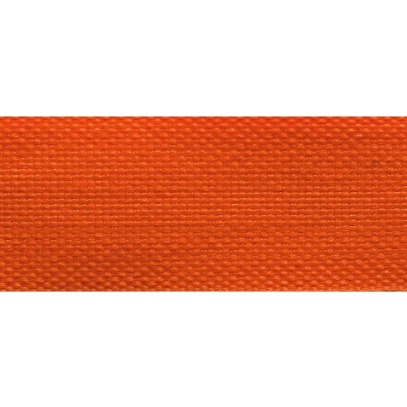 Тесьма стропа поликоттон/сутаж 3см 42-45м/рулон,цв:оранжевый