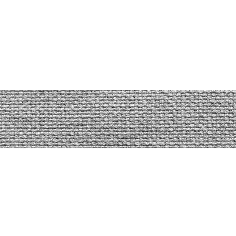 Тесьма стропа поликоттон/сутаж 1,5см 42-45м/рулон,цв:серый