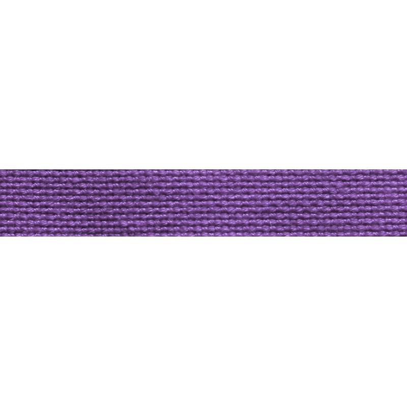 Тесьма стропа поликоттон/сутаж 1см 42-45м/рулон,цв:фиолетовый