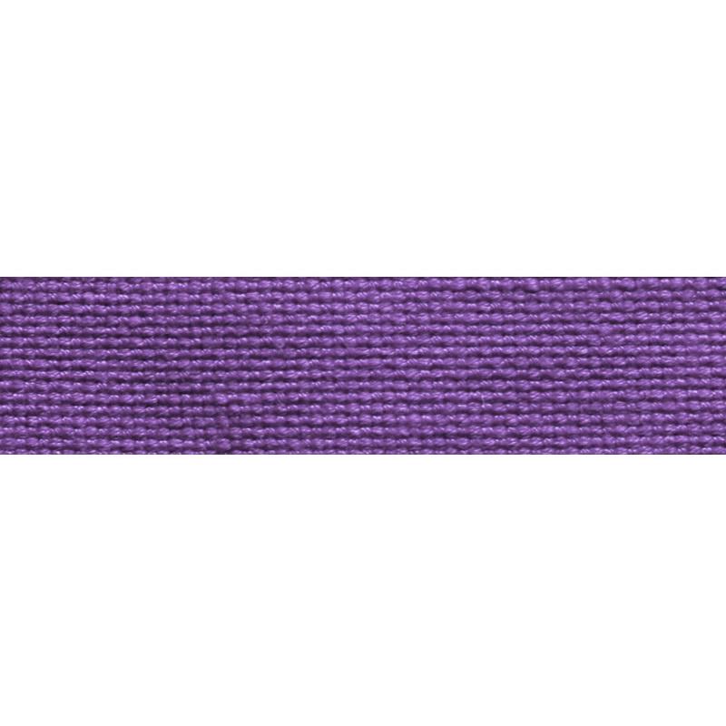Тесьма стропа поликоттон/сутаж 1,5см 42-45м/рулон,цв:фиолетовый
